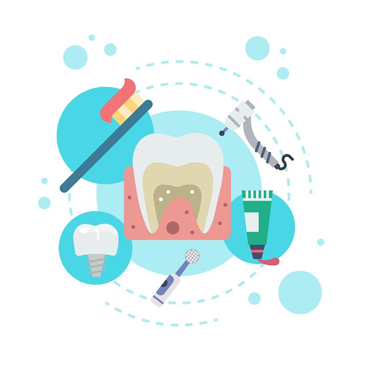 jak pečovat o zuby infografika