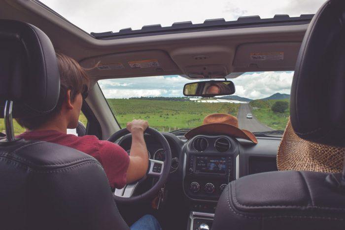 cestování s klimatizací v autě