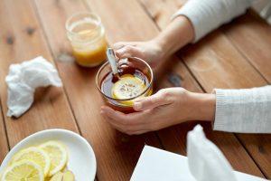 čaj na snížení horečky