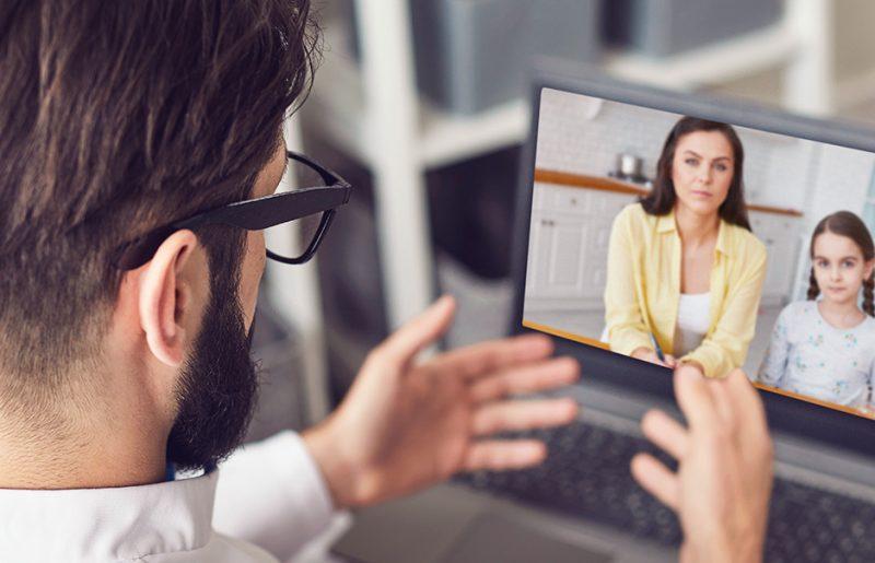 Telemedicína: Funguje vztah s lékařem přes monitor?