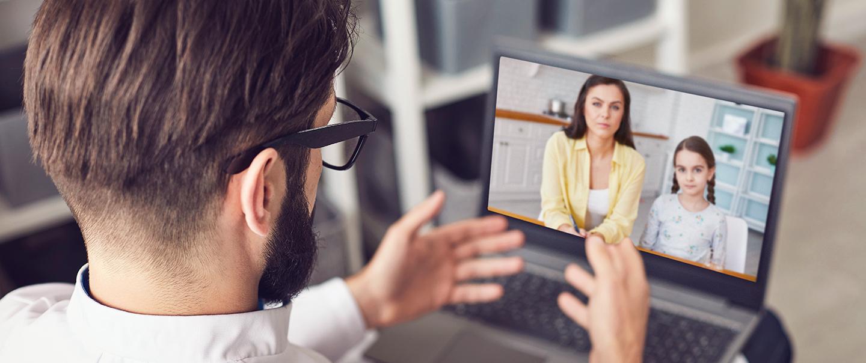 Telemedicína: Funguje vztah slékařem přes monitor?