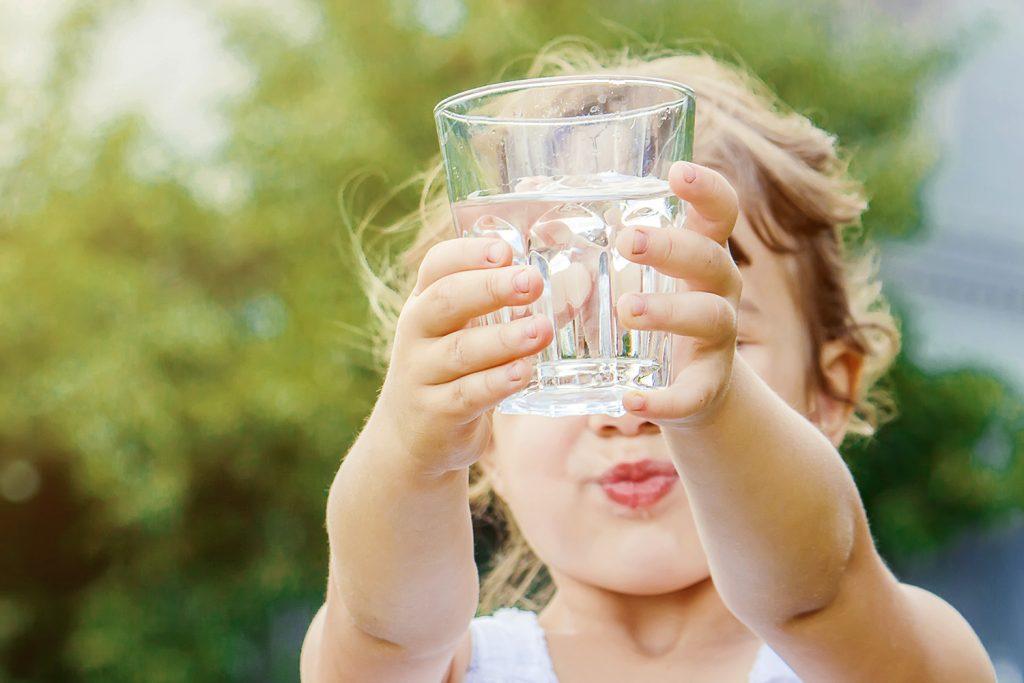 dětský pitný režim